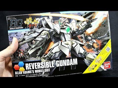 1393 - HGBF Reversible Gundam UNBOXING