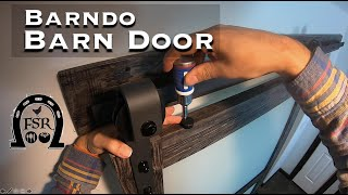 Barn Door Install in the Barndominium