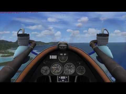 Cri Cri aerobatics in Pago Pago, American Samoa