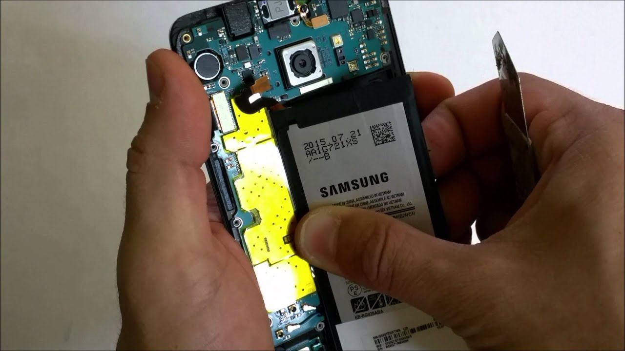 How to Replace the Battery on a Samsung Galaxy S6 Edge Plus