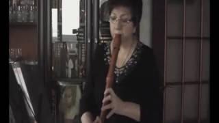 �������� ���� Менуэт Ре минор BWV Anh 132 из Нотной тетради Магдалены Бах ������