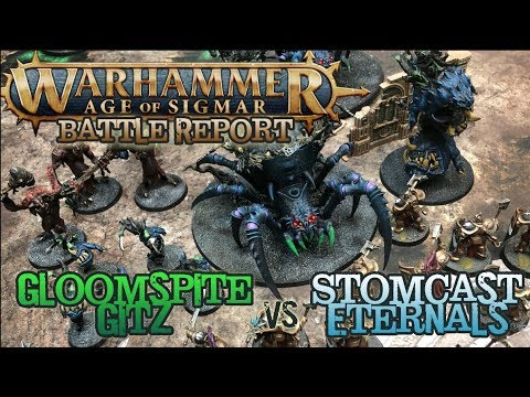 Warhammer: Age of Sigmar 2E Battle Report - Gloomspite Gitz vs. Stormcast Eternals