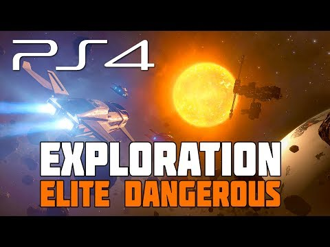Elite Dangerous - Setting up an Exploration Ship and Planning an Expedition - PS4