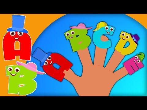 Chanson abc | alphabets famille doigt | Chanson pour enfants | Finger Family Song | Alphabets Family