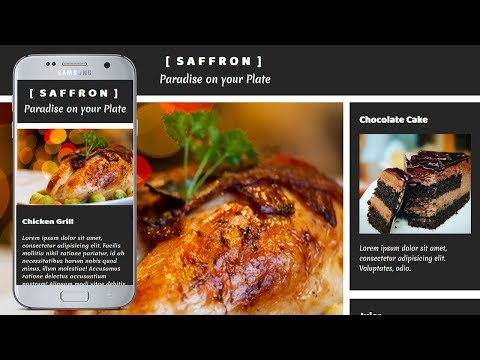 Simple Responsive Website layout with Flexbox | CSS3 Flexbox Page Layout Tutorial