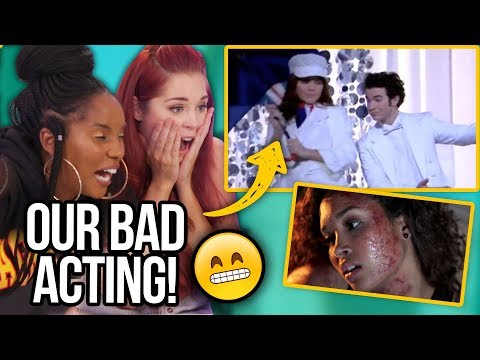 Reacting to our Acting w/ Jonas Brothers, Shane Dawson, Big Time Rush & More