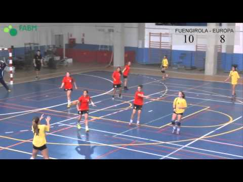 Balonmano Infantil Femenino - Fuengirola - Europa