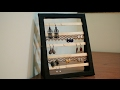 DIY Popsicle sticks - Jewelry Earring Holder