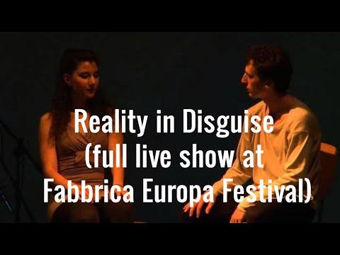 Reality in Disguise Art'n'Go @ Fabbrica Europa Festival (IT)