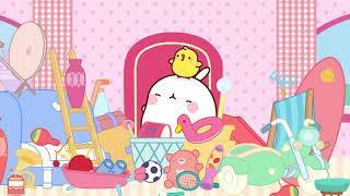 Molang - The parrot  Comedy Cartoon  More ⬇️ ⬇️ ⬇️