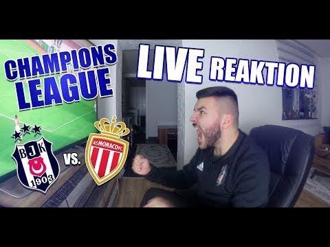 CanBroke | AS Monaco -  Besiktas  | Champions League Live Reaktion