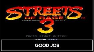SEGA Mega Drive (Genesis) Classics - Good Job Trophy / Achievement
