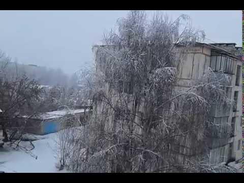 28.11.2016г Снегопад в Сасово