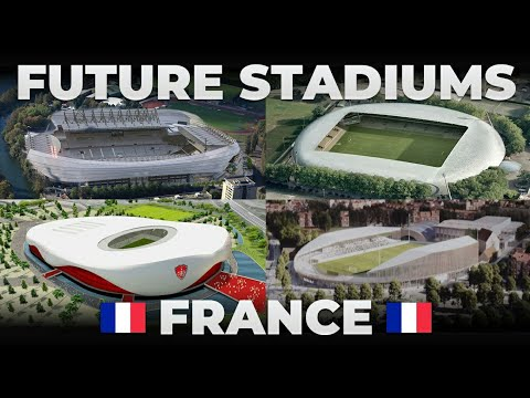 Future Stadiums in France