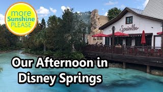 Our Afternoon in Disney Springs - vlog