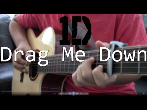 (One Direction) Drag Me Down - [Free Tabs] Fingerstyle Guitar Cover