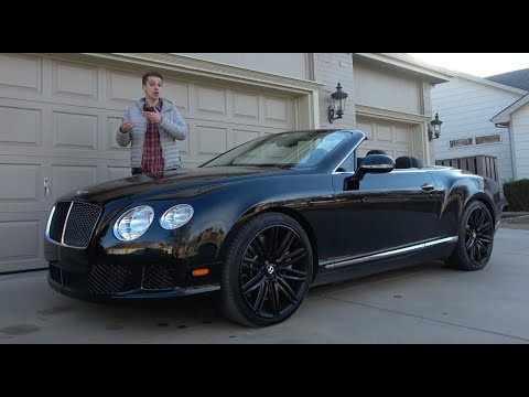 This 2014 Bentley Continental GTC Speed Depreciated Over $100,000 in 3 Years