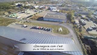 c2m-negoce.com Survol de l'entreprise en drone