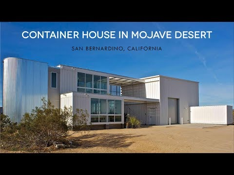 Tim Palen Studio: Mojave Desert Container House by Ecotech