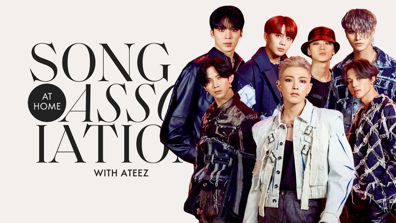"""ATEEZ Sings Shawn Mendes, 5 Seconds of Summer, and """"Answer"""" in a Game of Song Association"""