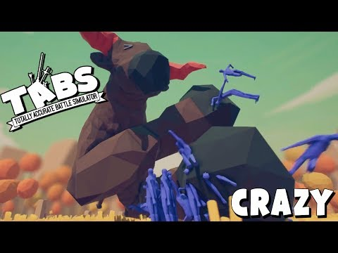 TABS Craziest NEW Unit in Totally Accurate Battle Simulator! (TABS Philosopher Unit & Sandbox)