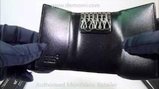 MB 7161 montblanc key case meisterstuck  portachiavi review mont blanc