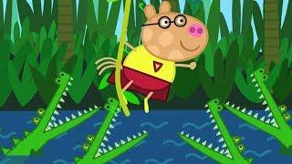 Peppa Pig Português Brasil 👟 AULA DE GINÁSTICA ⭐️ Peppa Pig Peppa Pig