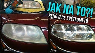 🛠️ Jak renovovat zašlá žlutá přední světla?!