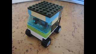 делаем легковую машину🚗 из Lego