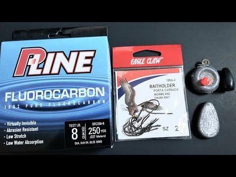 Surf Fishing Tips - How To Setup A Bottom Rig