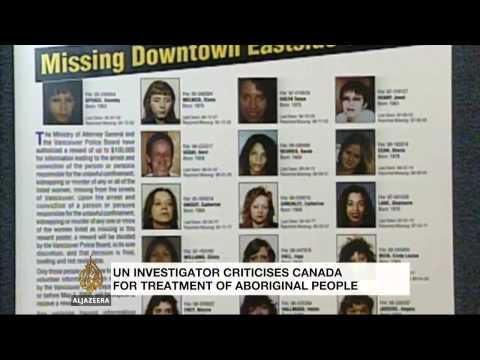 UN criticises Canada for treatment of aboriginal people