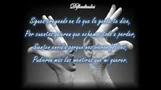 DIFICULTADES, DARÍO GÓMEZ, LETRA (VÍDEO 36)