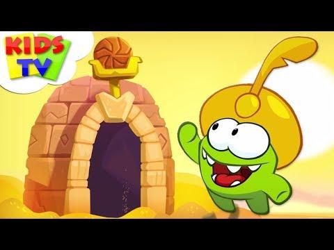 Om Nom Stories:  The Magic Lamp | Cut The Rope: Magic |  Season 4 Episode 3 | Cartoon For Kids
