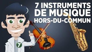 7 instruments de musique qui sortent de l