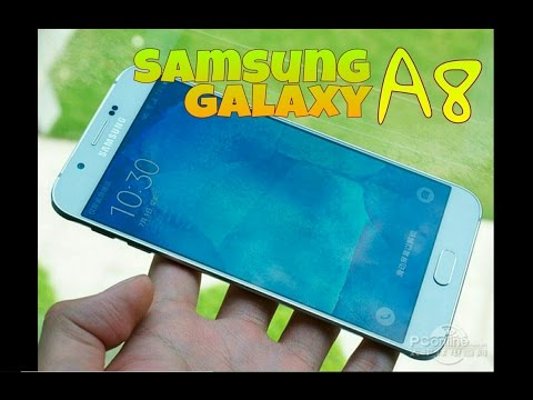 New a8, Nuevo Samsung galaxy a8, características y precios en español del smartphone más fino.