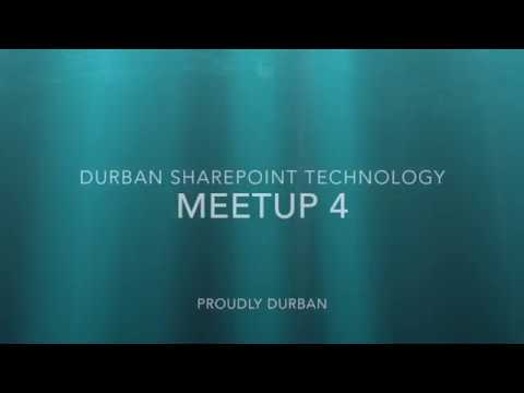 SharePoint - What you want to know about (Durban SharePoint Technologies - Meetup 4)