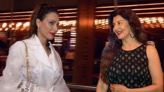 Salman Khan Lady Love Iulia Vantur & Ex FLAME Sangeeta AtLove Yatri SCREENING