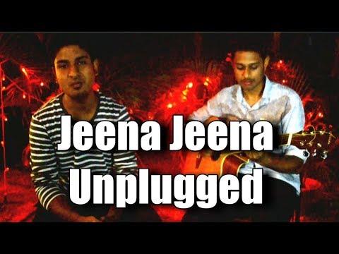 Jeena Jeena | Unplugged | Badlapur | Guitar | Bm800 | Home studio