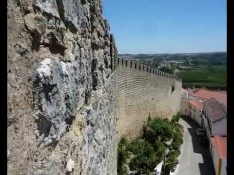 Portugal - Óbidos in der portugiesischen Region Centro