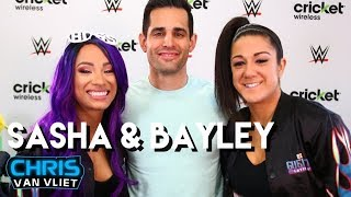 How well do Sasha Banks & Bayley know each other? Tag titles, WrestleMania, beating Ronda Rousey