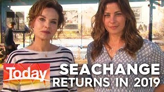 SeaChange stars are live as production begins | TODAY Show Australia