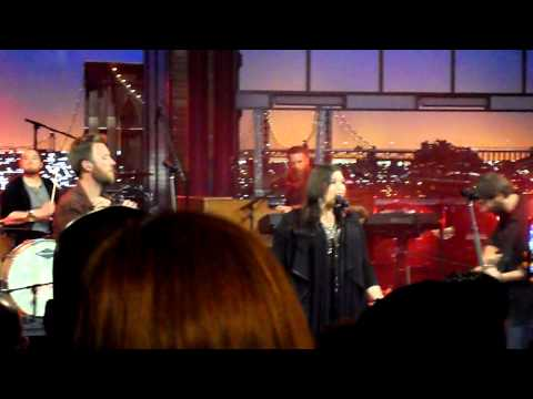 """Lady Antebellum On Live On Letterman - """"Downtown"""""""