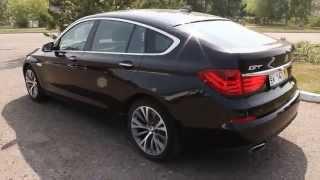 БМВ 550i GT F07. 2009 года. Интерьер. ОБЗОР(Премьера заднеприводного пятиместного спортивного хэтчбека BMW 5 Series Gran Turismo состоялась в сентябре 2009 года..., 2014-03-27T09:50:47.000Z)