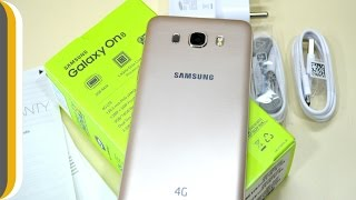 Samsung Galaxy On8 (Gold, 16 GB) UNBOXING