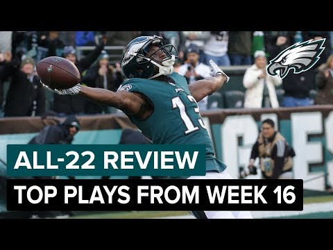 Top Plays From Dramatic Win | Philadelphia Eagles All-22 Review