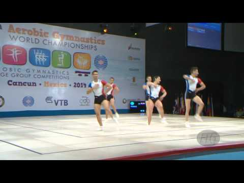FRANCE Group  -- 2014 Aerobic Worlds, Cancun (MEX), Qualifications -- We are Gymnastics !