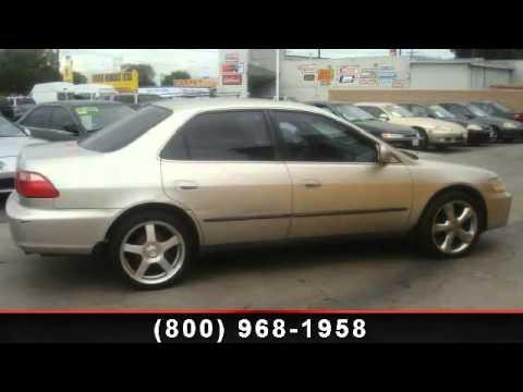 1999 Honda Accord Sdn - Used Hondas USA - Bellflower, CA 90