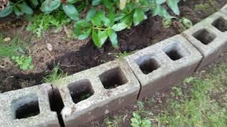 Переделываем Старую клумбу /  ЧАСТЬ  1 / Выкапываем старые бордюрные камни