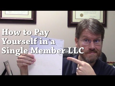 How to Pay Yourself in a Single Member LLC