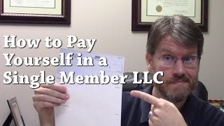 connectYoutube - How to Pay Yourself in a Single Member LLC